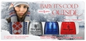 Picture of China Glaze Item# 81041 Baby It's Cold Outside Nail Polish Gift Set