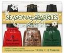 Picture of China Glaze Item# 81038 Seasonal Sparkles Nail Polish Holiday Gift Set
