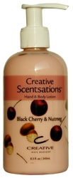 Picture of CND Lotion - C14110 Black Cherry & Nutmeg Lotion - 8.3oz