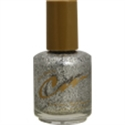 Picture of Cm Nail Polish Item# 249 Silver Glitter
