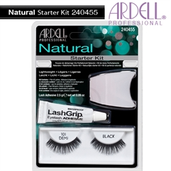 Picture of Ardell Eyelash - 240455 Natural 101 Demi Black Starter KIT