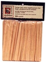 Picture of Clean + Easy - 41101 Wood Applicator Sticks Large 100 ct