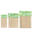 Picture of Clean + Easy - 41105 Wood Applicator Sticks Petite  100 ct
