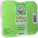 Picture of Clean + Easy - 41106 Deluxe Pot Wax Collars 50 ct
