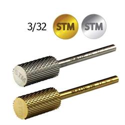 Picture of Startool Carbide - STM-S Carbide Bits Large Barrel Silver Medium STM 3/32 (2.35mm) - Boxed