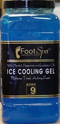Picture of Footspa Item# 02504 Ice Cooling Gel 1 gallon