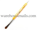 Picture of 999 Kolinsky Yellow French Brush - 12