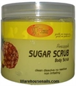 Picture of SpaRedi Item# 01400 Sugar Scrub Pineapple 16 oz