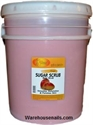 Picture of SpaRedi Item# 01450 Sugar Scrub Mango 5 Gallon