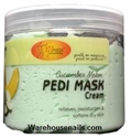 Picture of SpaRedi Item# 05340 Pedi Mask Cucumber & Melon 16 oz