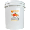 Picture of SpaRedi Item# Pedi Scrub Gel Mandarin 5 Gallon
