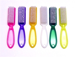 Picture of Apollo Beauty - NB1A Manicure Nail Brushes 72pcs/pk (with 6 color)