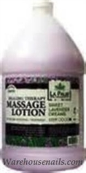 Picture of La Palm Lotion - 01036 Healing Therapy Massage Lotion Sweet Lavender Dream 1 gallon (128 oz)