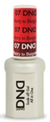 Picture of DND MOOD CHANGE GEL  - DND07 Berry to Burgundy Berry 0.5oz