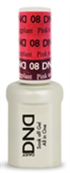 Picture of DND MOOD CHANGE GEL  - DND08 Pink to Eggplant 0.5oz