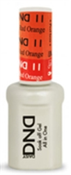 Picture of DND MOOD CHANGE GEL  - DND11 Orange to Red Orange 0.5oz