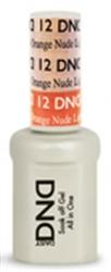 Picture of DND MOOD CHANGE GEL  - DND12 Light Pink to Orange Nude 0.5oz