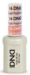 Picture of DND MOOD CHANGE GEL  - DND16 Light Purple to Pink 0.5oz