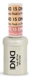 Picture of DND MOOD CHANGE GEL  - DND15 Nude to Peachy 0.5oz
