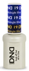 Picture of DND MOOD CHANGE GEL  - DND19 Light to Midnight Blue 0.5oz