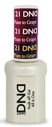 Picture of DND MOOD CHANGE GEL  - DND21 Plum to Grape 0.5oz