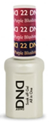 Picture of DND MOOD CHANGE GEL  - DND22 Blushing to Purple 0.5oz
