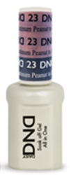 Picture of DND MOOD CHANGE GEL  - DND23 Peanut to Platinum 0.5oz