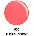 Picture of DND GEL DUO - DND650 Floral Coral