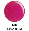 Picture of DND GEL DUO - DND658 Basic Plum