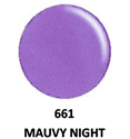 Picture of DND GEL DUO - DND661 Mauvy Night
