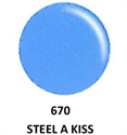 Picture of DND GEL DUO - DND670 Steel a Kiss