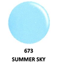 Picture of DND GEL DUO - DND673 Summer Sky