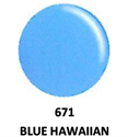 Picture of DND GEL DUO - DND671 Blue Hawaiian