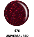Picture of DND GEL DUO - DND676 Universal Red